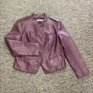 Tory Burch leather jacket in excellent condition